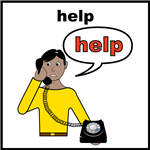 Help on the phone