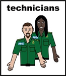 ambulance technicians