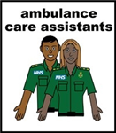 ambulance car assistants
