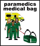 paramedics medical bag
